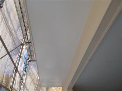 品川区西大井にてウレタン塗膜防水(下地再形成)を実施し3階バルコニーからの雨漏りを改善