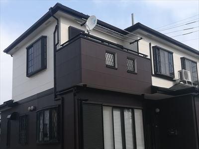 相模原市緑区下九沢で外壁塗装工事完了