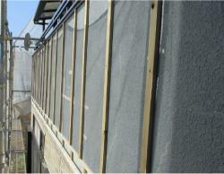 外壁カバー工法前の外壁