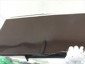 木更津市 庇塗装