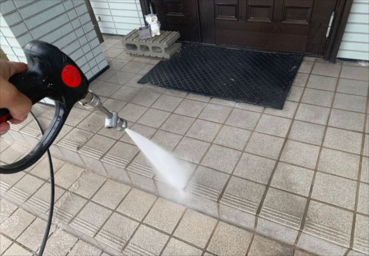 木更津市 ポーチ洗浄