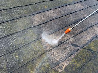 木更津市 屋根の洗浄