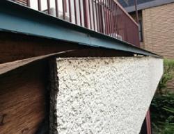 外壁塗装が不可能な剥がれかけたサイディング