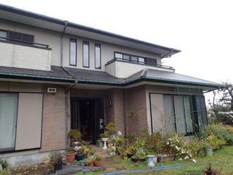 館山市 ニューボンデンDXでログハウスの外壁塗装完工です!