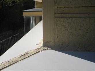 横浜市磯子区のサビが出ている屋根の塗装
