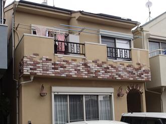 海老名市 屋根塗装 外壁塗装 カラーシミュレーション 元画像