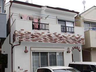 海老名市 屋根塗装 外壁塗装 カラーシミュレーション ホワイト系