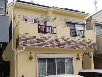 海老名市 屋根塗装 外壁塗装 カラーシミュレーション イエロー系