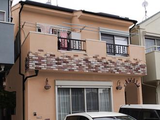 海老名市 屋根塗装 外壁塗装 カラーシミュレーション オレンジ系