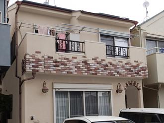海老名市 屋根塗装 外壁塗装 カラーシミュレーション ベージュ系
