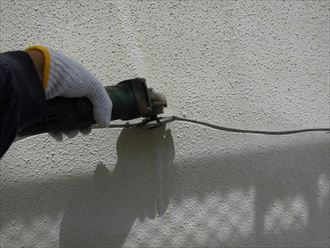 富里市屋根外壁塗装、下処理003