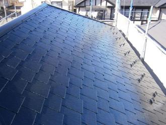 千葉市美浜区 屋根塗装 外壁塗装 カラーシミュレーション 屋根 塗装後