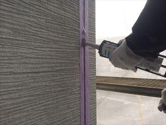 市原市屋根外壁塗装、下地処理002