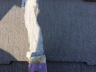市原市屋根外壁塗装、下地処理011