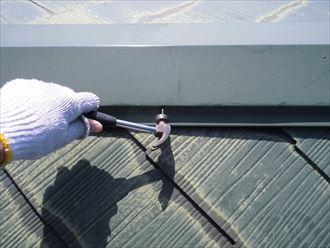 富里市屋根外壁塗装、下処理001