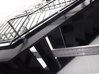 千葉県木更津市 階段の屋根補修 階段の塗装完了