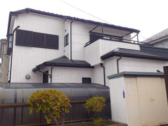 千葉市美浜区 屋根塗装 外壁塗装 カラーシミュレーション F05-85A