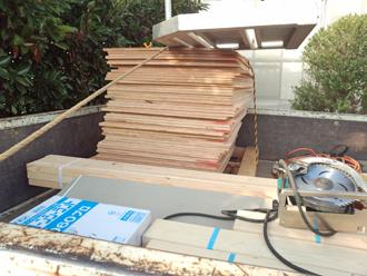 千葉県木更津市 屋根の雨漏り補修 補修材