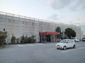 千葉県木更津市 メッシュシート設置完了