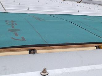 千葉県木更津市 屋根の雨漏り補修 ルーフィング
