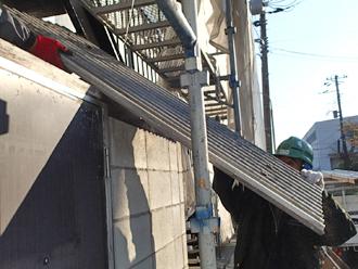 千葉県木更津市 ゴミ置き場の屋根補修