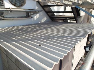 千葉県木更津市 ゴミ置き場の屋根補修 完了