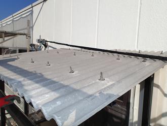 千葉県木更津市 階段の屋根補修 完了