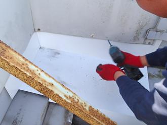千葉県木更津市 屋根の雨漏り補修 コーナー部の補修