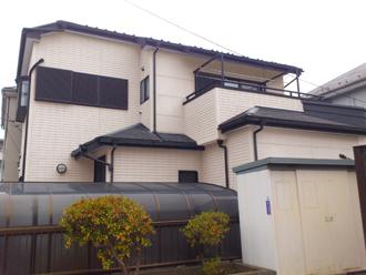 千葉市美浜区 屋根塗装 外壁塗装 カラーシミュレーション SR-410