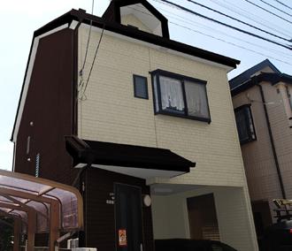 相模原市南区|築11年の屋根外壁塗装と目地コーキング補修依頼!
