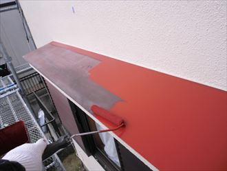 富里市屋根外壁塗装、下処理006