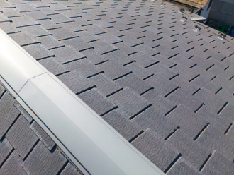 千葉市美浜区 屋根塗装 外壁塗装 カラーシミュレーション 屋根 塗装前