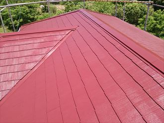 君津市 屋根塗装 ヤネフレッシュSi001_R