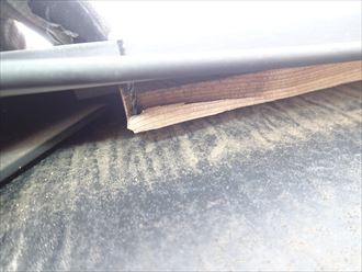 稲毛区 外壁、屋根塗装 事前調査 棟