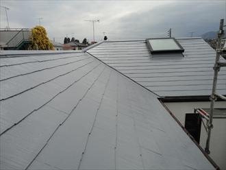 平塚市、屋根塗装完成