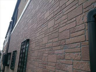稲毛区 外壁、屋根塗装 事前調査下サイディング2