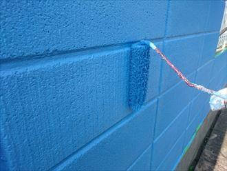 相原様 ブロック塀塗装001_R