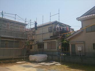 稲毛区セメント瓦屋根工事002