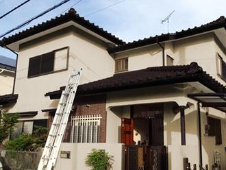 千葉市花見川区|グリーン色?チョコレート色?屋根と外壁の色選び