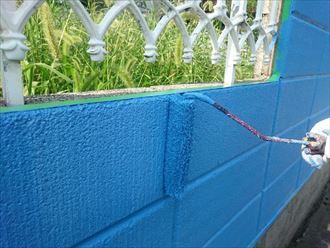 相原様 ブロック塀塗装006_R