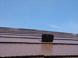神奈川県藤沢市で屋根と外壁の塗装工事がそろそろ完成です