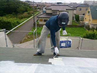 木更津市 軒天 屋根 外壁・屋根塗装005_R