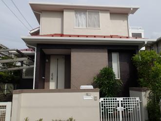 千葉市緑区の戸建て住宅!外壁塗装前にナノコンポジットwでカラーシミュレーション!