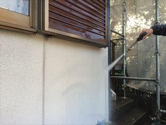 野田市のパーフェクトトップで屋根外壁塗装工事は順調に進んでいます