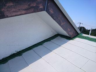 鎌ヶ谷市屋根外壁塗装足場洗浄下処理工事048