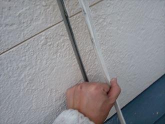 鎌ヶ谷市屋根外壁塗装足場洗浄下処理工事019