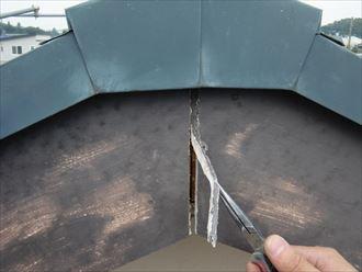 鎌ヶ谷市屋根外壁塗装足場洗浄下処理工事008