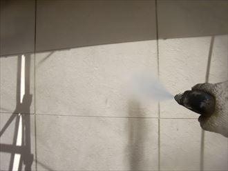 鎌ヶ谷市屋根外壁塗装足場洗浄下処理工事004