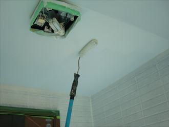 鎌ヶ谷市屋根外壁塗装足場洗浄下処理工事033