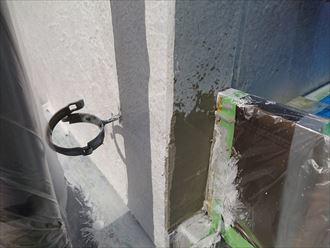 鎌ヶ谷市屋根外壁塗装足場洗浄下処理工事049